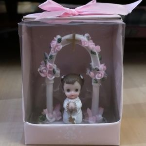 5 for $25 Baby Under Arch Figurine for Girls